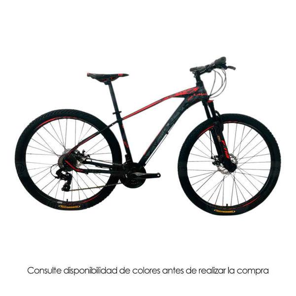 bicicleta, hombre, fina, mtb-29, lava, bici, velocidipedo
