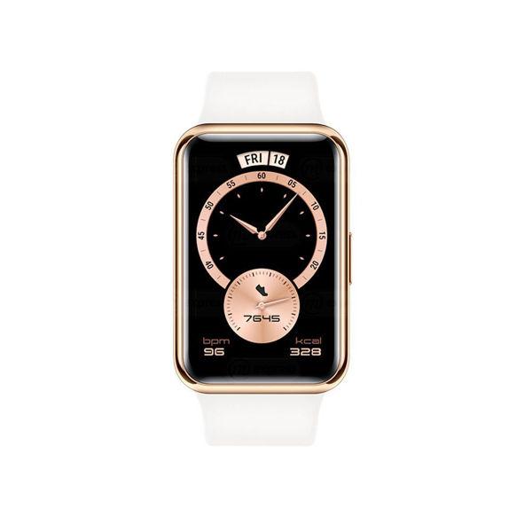 huawei, watch, fit, smartwatch, inteligente, banda, ejercicio, elegant-blanco